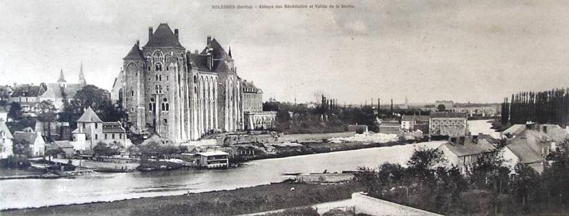 Solesmes : abbaye de Solesmes