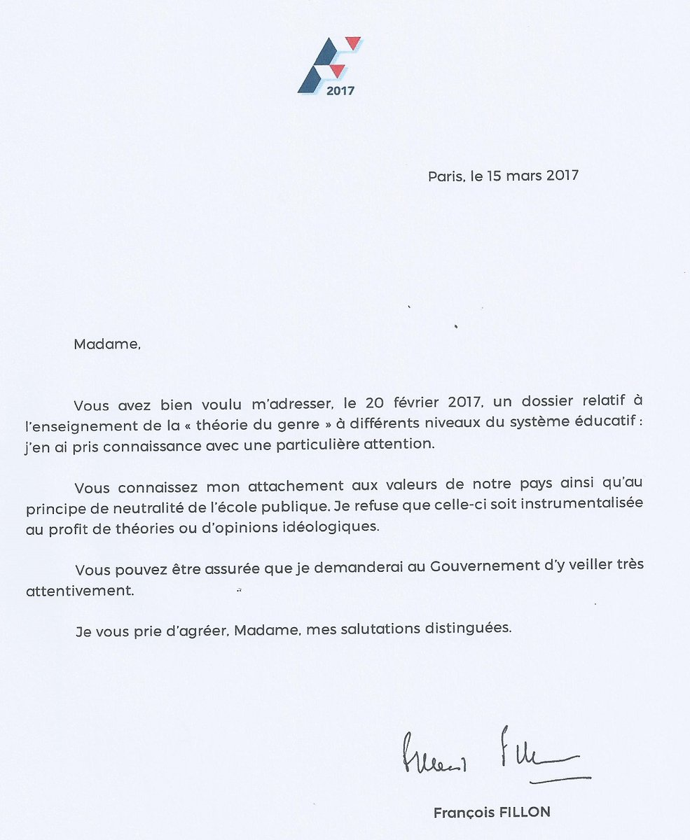 fillon gender