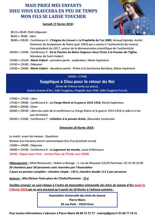 Pèlerinage/conférences à Notre-Dame de Pontmain (53) du 16 au 18 février !! 2018-01-30_10h51_20