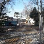 Démolition du bâtiment 502, projet FAST - LPTMS - Institut Pascal