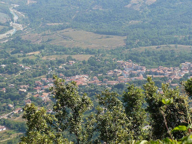 Un panorama dal Monte Bulgheria