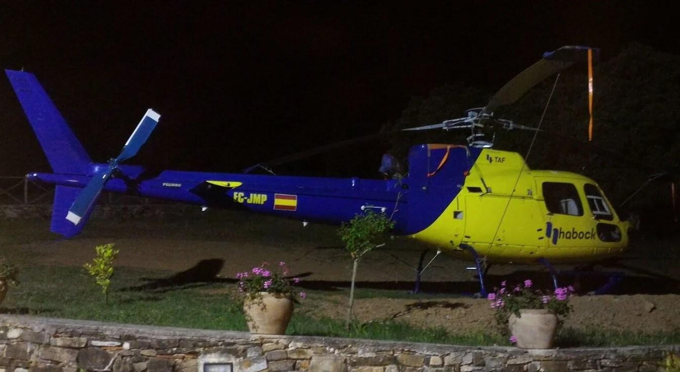 Elicottero 350 : Elicotteri in volo sul cilento: a bordo i dottori delle linee
