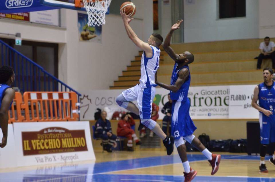 Basket: Agropoli perde con l'Eurobasket Roma e dice addio all'A2
