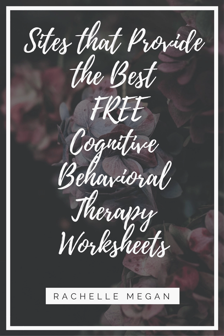 Free Cbt Worksheets Best Cognitive Behavioral Therapy Exercises