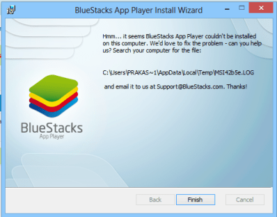 BlueStacks 2 Common Errors and Fixes