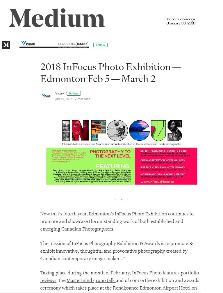 Media Room - InFocus Photo Exhibition