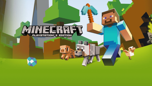 Minecraft overthrows Super Mario Bros