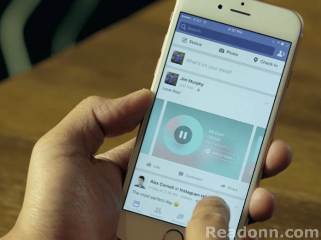 facebook music sharing