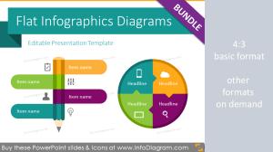 Predesigned presentation slides and graphics  InfoDiagram