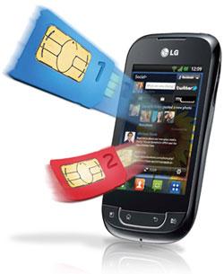 LG Optimus Net Dual P698F – O Android Dual Chip