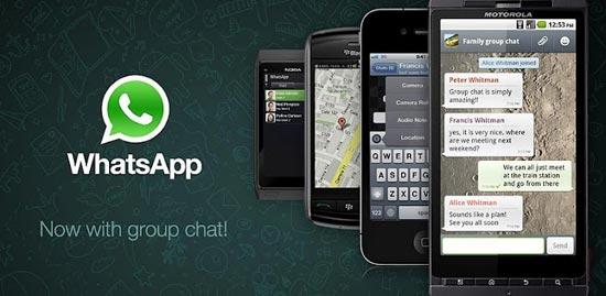 WhatsApp Messenger – Mensagens grátis com seus contatos