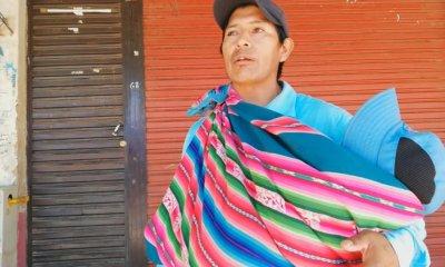 Leucadio Mamani pide ayuda
