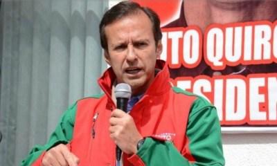 Tuto Quiroga renuncia a su candidatura