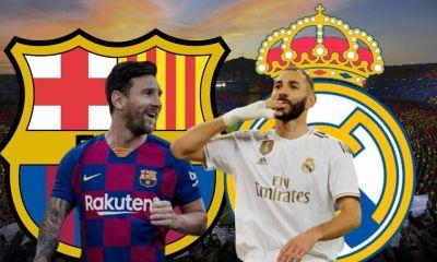 Clásico de España entre Barcelona vs Real Madrid en vivo