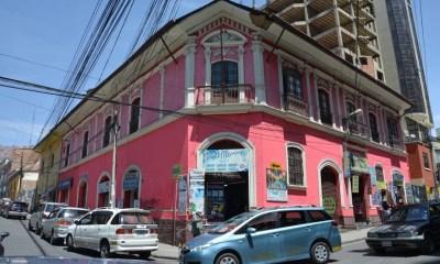 Edificios históricos en La Paz