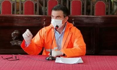 Alcalde de Tarija Rodrigo Paz