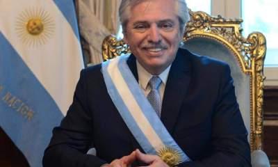 Alberto Fernández en Bolivia junto a Lucho Arce
