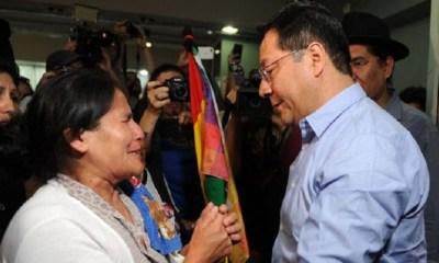 Presidente de Bolivia Luis Arce