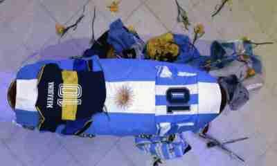 Muerte de Diego Maradona