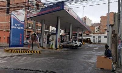 Distribución normal de combustible