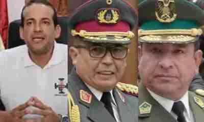 Luis Fernando Camacho y militares