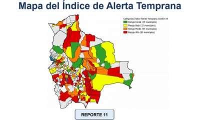 Municipios en riesgo Covid-19