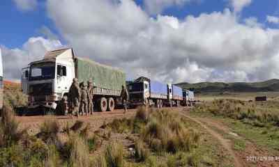 Camiones decomisados