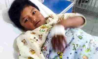 Niño Culpinineño internado en Santa Cruz