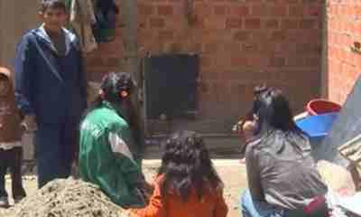 Darío Colque padre video en La Paz
