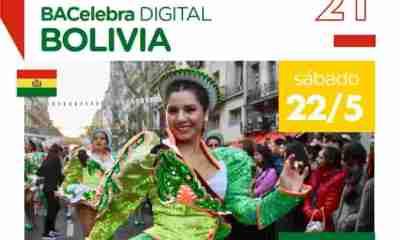 Buenos Aires celebra bolivia 2021