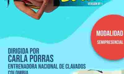 curso para entrenadores en clavados en Bolivia