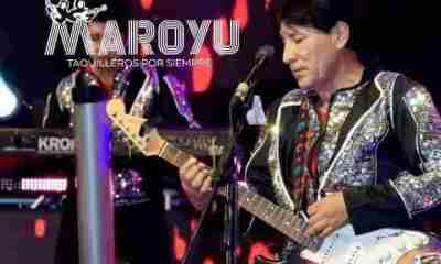Rodolfo Yucra grupo Maroyu