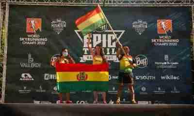 Bolivianos en Mundial Skyrunning