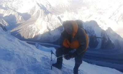 Alpinista Hugo Ayaviri