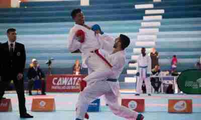 Sudamericano de Karate en Santa Cruz