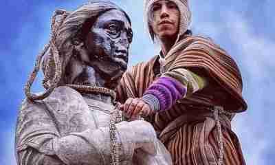 Estatua de Cristóbal Colón la Paz