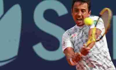 Tenista Hugo Dellien