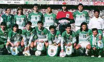 Selección boliviana mundial 94