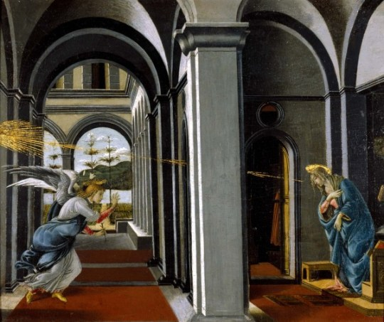 "One of Botticelli's paintings on display at the Art Gallery of Alberta's ""Of Heaven and Earth"" feature exhibit."