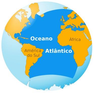Resultado de imagem para oceano atlantico