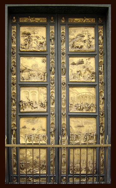 Baptistry Gates Of Paradise Florence Itineraries