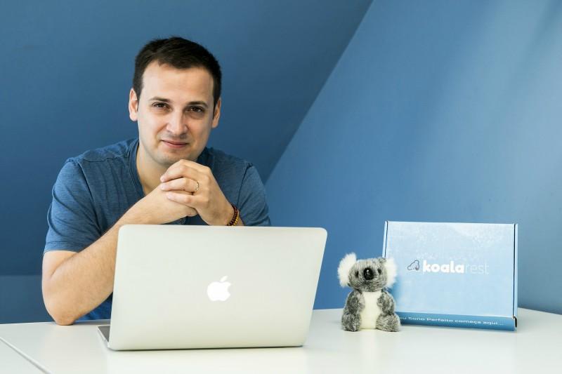 Bruno Madeira é um dos fundadores da Koala Rest