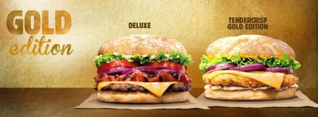 Burger King lança dois hambúrgueres gourmet