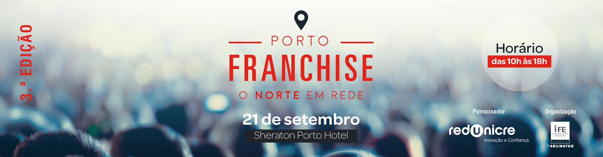 Porto Franchise, evento de franchising no norte