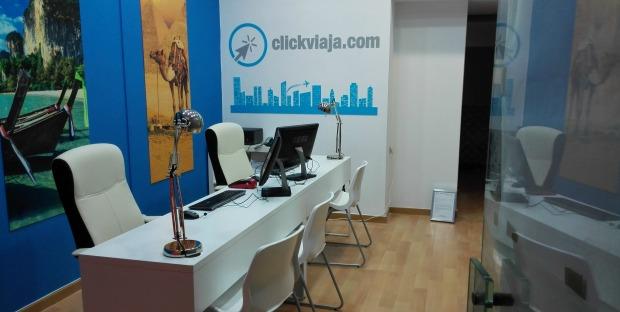 clickviaja.com abre unidade no Saldanha