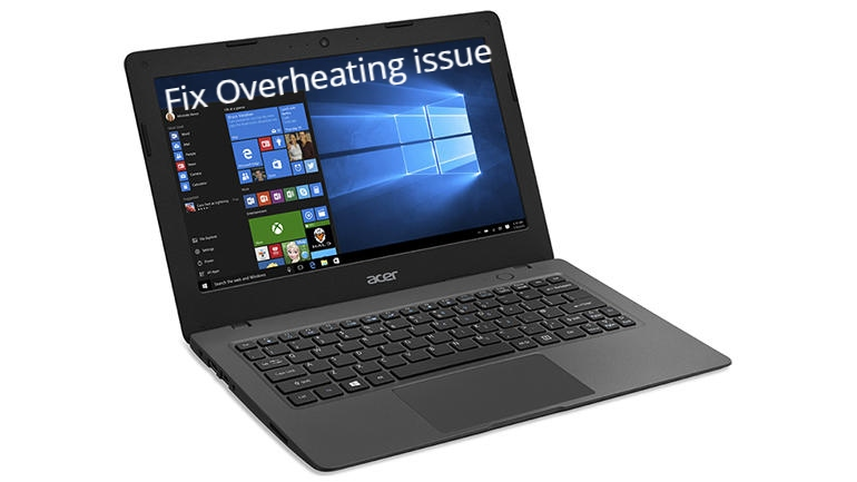 How to Fix Acer Aspire 1 overheating and shutting down?