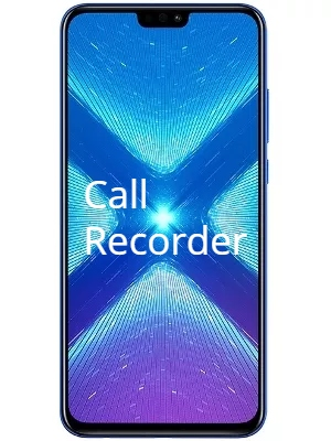 Honor 8X Call Recorder for recording calls automatically