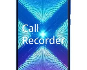 Honor 8X Call Recorder