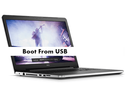 Dell Inspiron 17 5000 Boot From USB