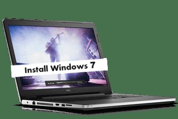 Install Windows 7 on Dell Inspiron 17 5000